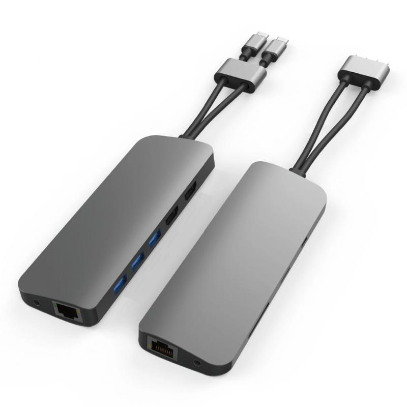 HyperDrive VIPER 10-in-2 USB-C Hub HD392