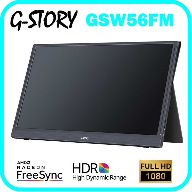 "G-Story 15.6"" 便攜式顯示器 GSW56FM"