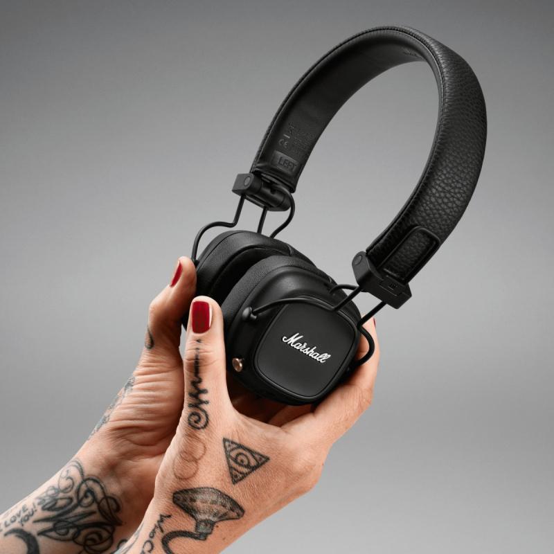 Marshall Major IV 頭戴式耳機 80小時使用 (香港行貨 一年保養)