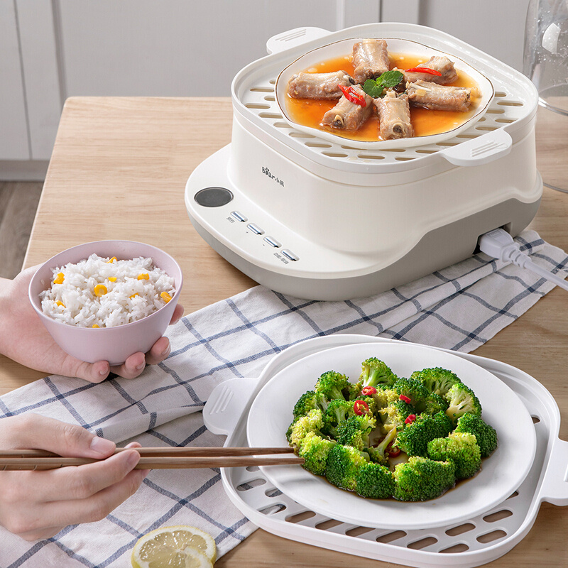 Bear 小熊6L電蒸鍋 DZG-C60A1 - 中式早餐機 電煮鍋 蒸架