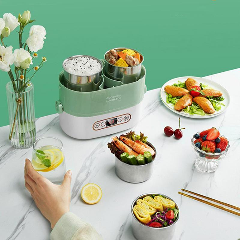 生活元素智能蒸煮飯盒 F61 - 電蒸鍋 保溫盒 煮食盒 便攜