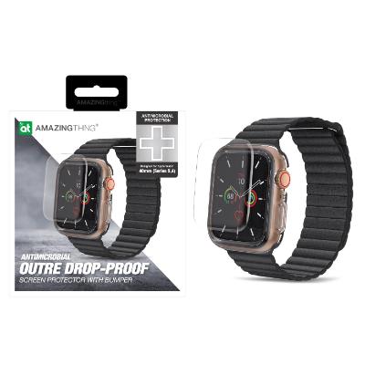 AMAZINGthing Apple Watch Series 4, 5 44mm Outre 抗菌防摔屏幕保護套