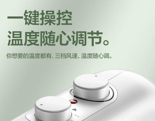 AIRMATE 室內加熱器 (PTC陶瓷暖風機) 淨白色 WP20-X17