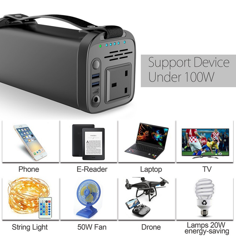 JYF 100W Multi-Functional Energy Storage Power Supply 多功能儲能電源 PS100[40,000mAh]