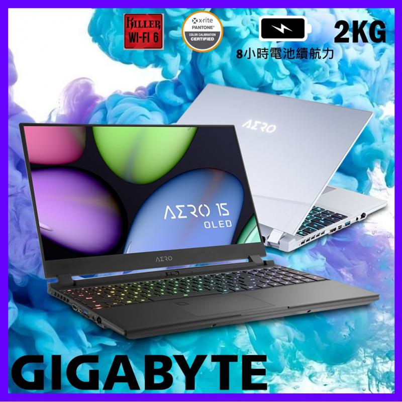 "GIGABYTE AERO 15 OLED WB 15.6"" 手提電腦( i7-10750H / RTX2070 )"