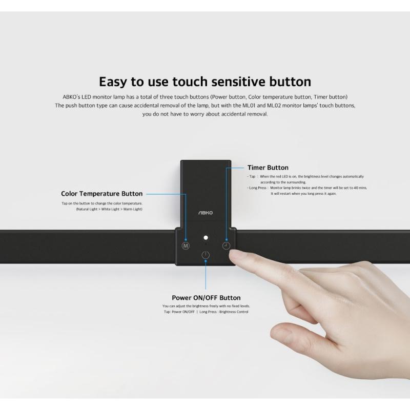 韓國ABKO LED燈 2️⃣個Size型號:☀️ML01☀️ML02