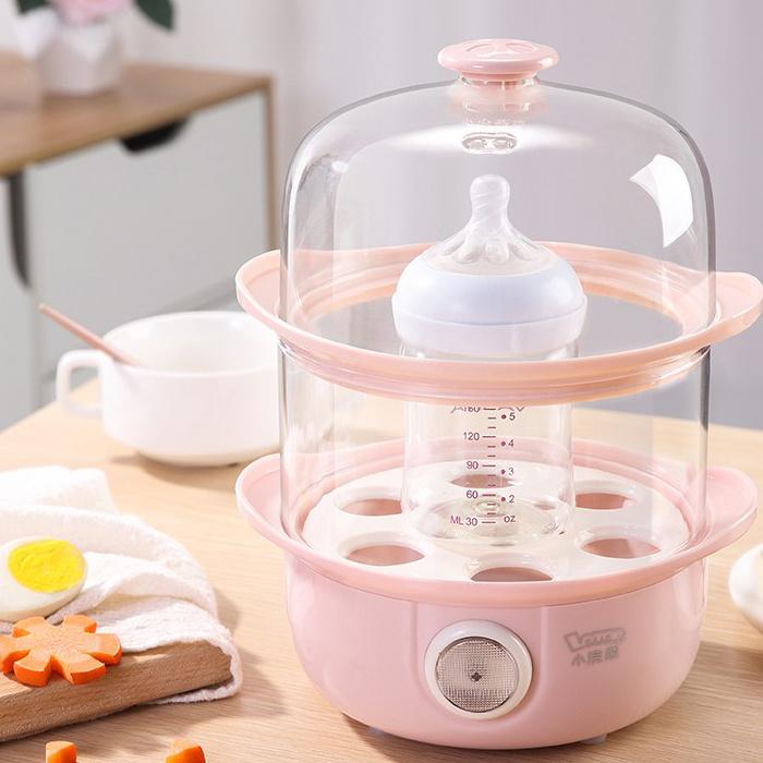 小浣熊多功能蒸蛋器 ZDQ-01 - 電蒸爐 電蒸鍋 奶樽消毒器 煮食機