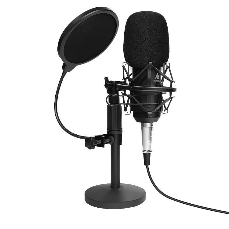 MAONO 3.5mm 專業座枱收音咪套裝 AU-A03T