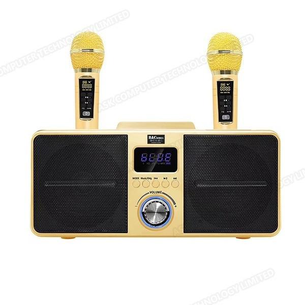 B&C 家庭卡拉OK便攜式無線K歌音響喇叭