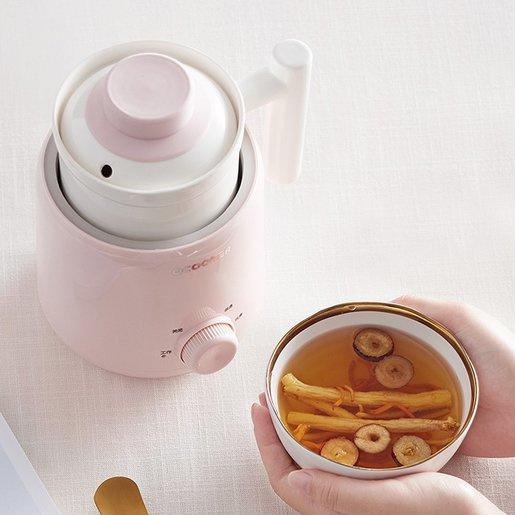 Ocooker圈廚 陶瓷養生杯 0.6L CR-YS06 白色陶瓷養生壺/電燉盅