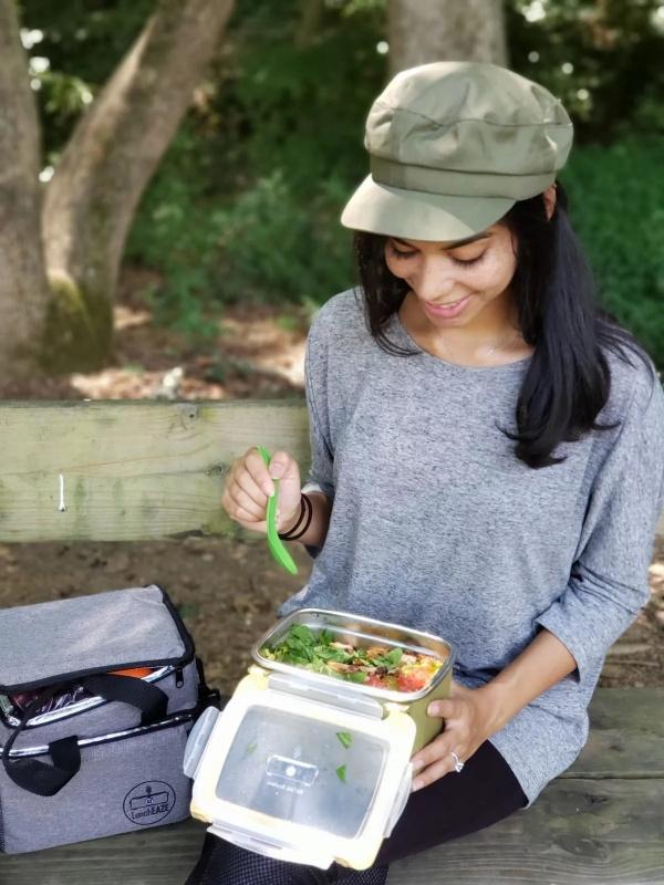 美國LunchEAZE自動加熱飯盒充電式🍱🥗