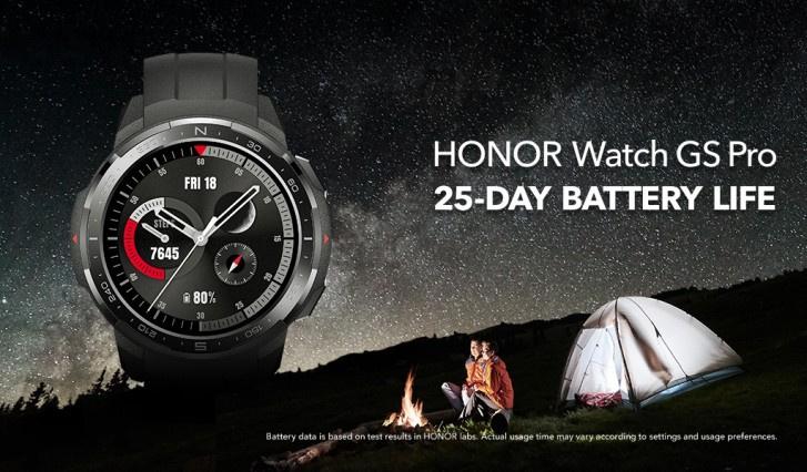 Honor 帶來續航力 25 天的 Watch GS Pro ⌚️