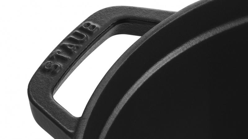 Staub - 圓形鑄鐵鍋 黑色 - 28cm /6.7L (1102825) Round Cocotte Black