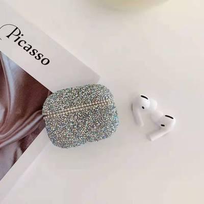 M-Plus Airpods Pro 矽膠耳機保護套 閃鑽款