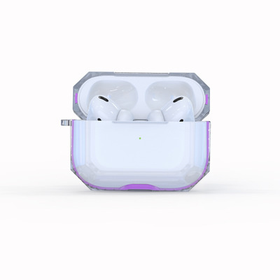 M-Plus Airpods 1代/2代/Pro 透明TPU耳機保護套