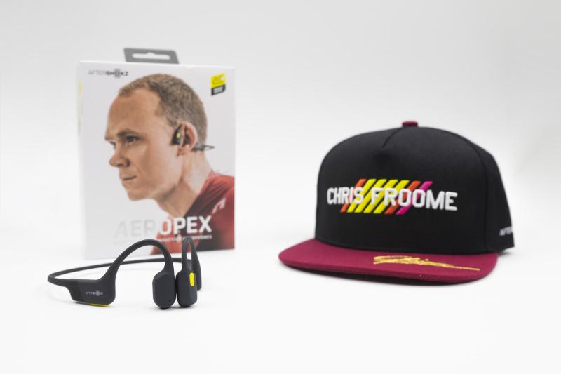 AfterShokz Aeropex AS800 骨傳導藍牙運動耳機 (環法單車賽限量版聯乘套裝)