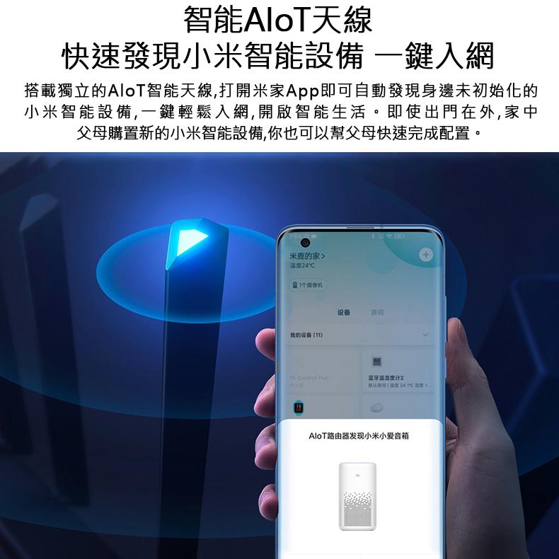 小米AIoT路由器 AX3600 - 雙頻無線路由器 高功率天線 智能天線 千兆端口 wifi6 穿牆王