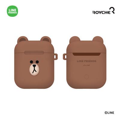 韓國Line Friends - AirPods 藍牙耳機矽膠保護套