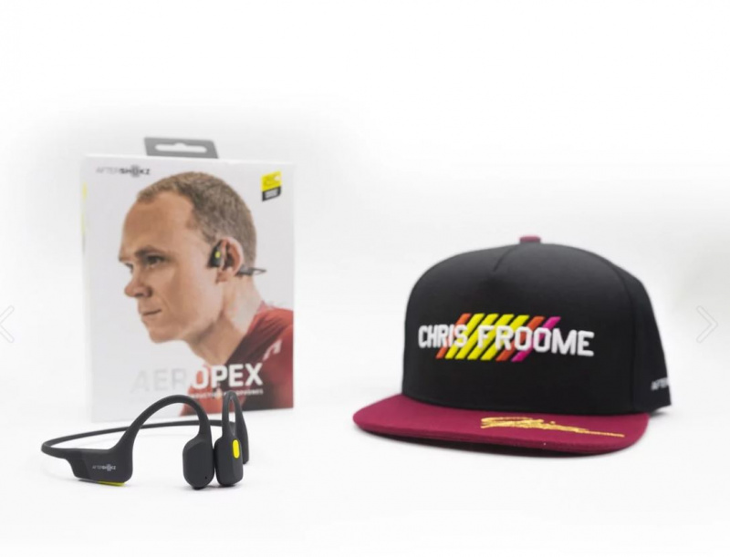AfterShokz Aeropex AS800 骨傳導耳機 (環法聯名限量套裝)