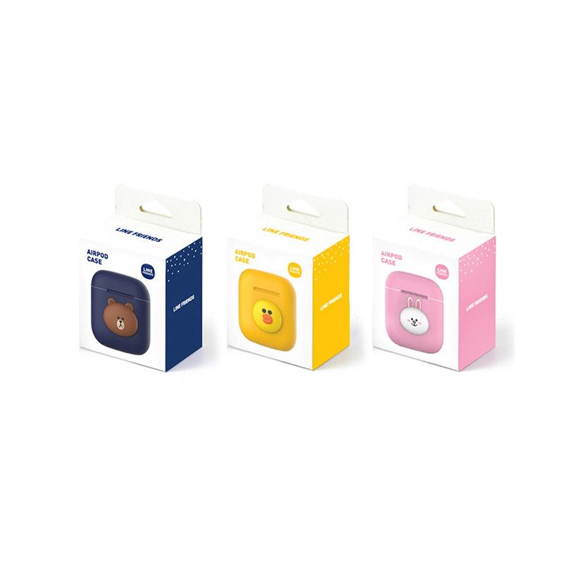 韓國Line Friends - AirPods 藍牙耳機超薄保護套