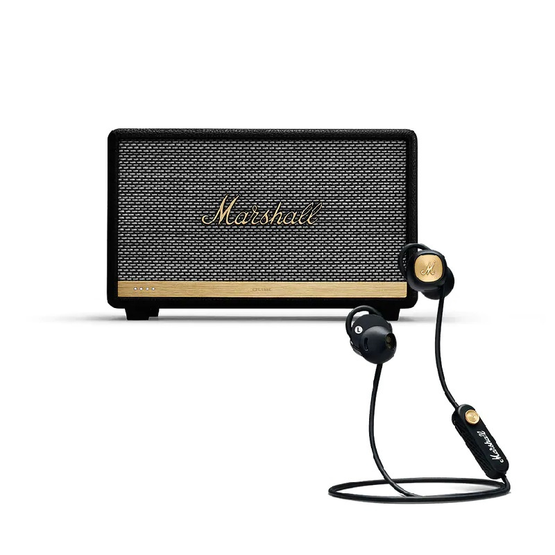 Marshall Acton II Voice with the Google Assistant Built-In - Black