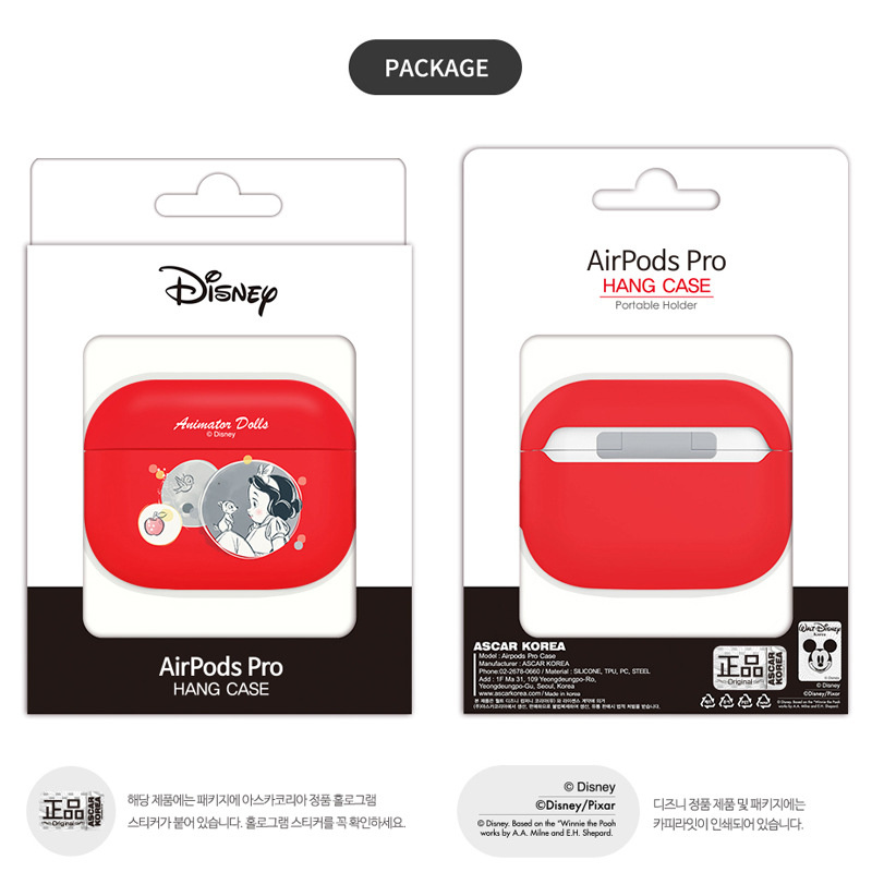 韓國 iColors x Disney Princess - AirPods Pro 藍牙耳機矽膠保護套【7款】
