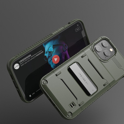 韓國VRS Premium Case For iPhone 12/mini/Pro/Pro Max 防摔手機保護套帶支架