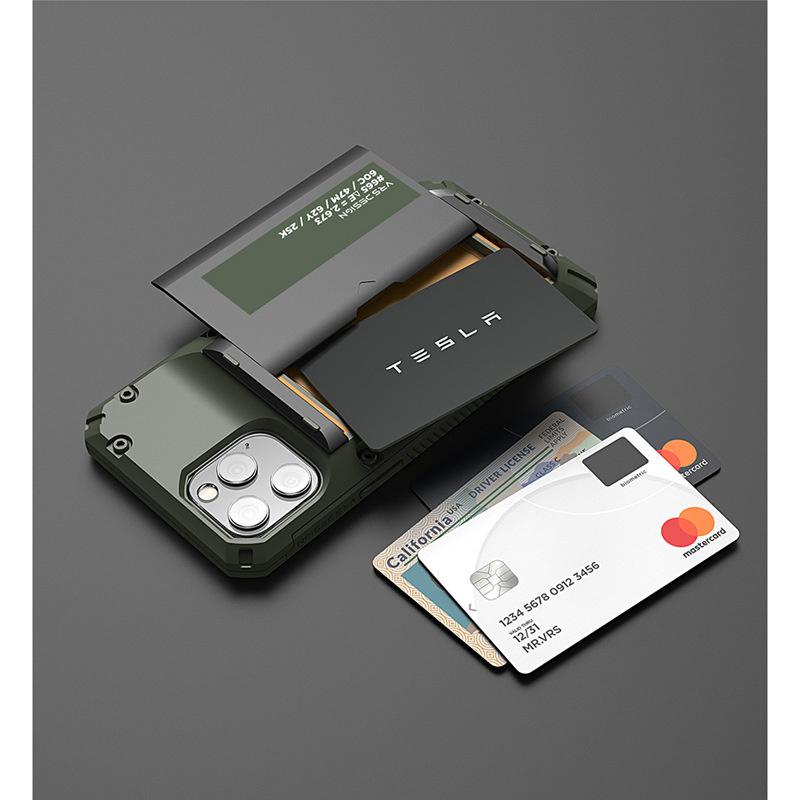 韓國VRS Premium Case For iPhone 12/mini/Pro/Pro Max 可插卡防摔手機保護套帶