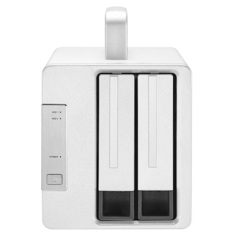 TERRAMASTER TD2 Thunderbolt 3 雷電3 專業級雙槽外置硬盤盒 RAID 0/RAID1/JBOD 硬盤 RAID 存儲 (不含硬盤)