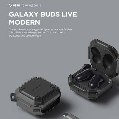 韓國VRS Premium Case For Samsung Galaxy Series - Buds Live / pro Active 耳機保護套【5色】