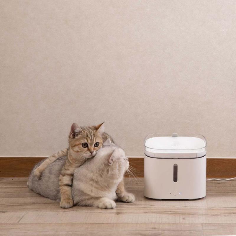 小頑 智能寵物飲水機 2L XWWF01MG - 自動寵物飲水器 可連接米家APP控制水機