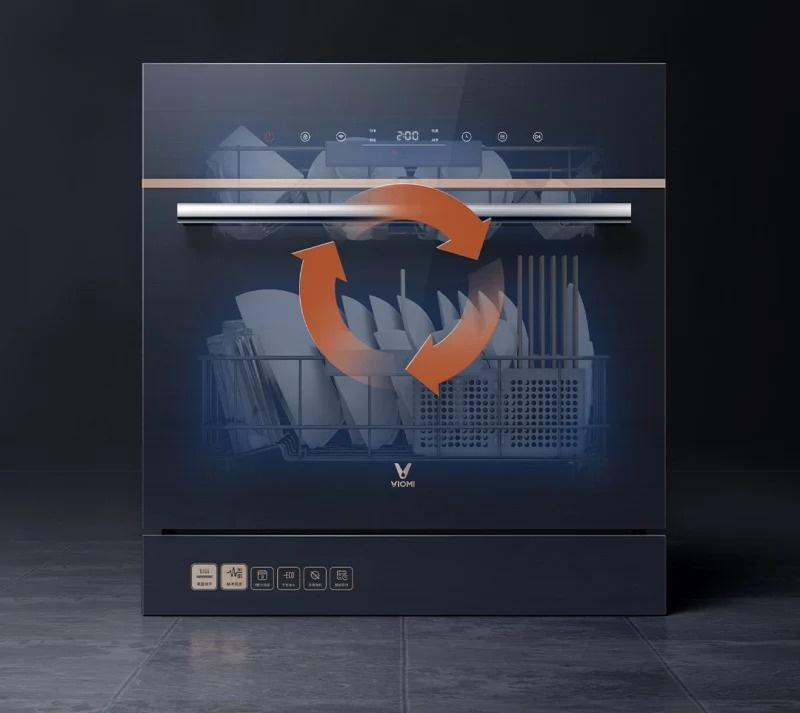 雲米互聯網嵌入式洗碗機洗烘一體 2020款