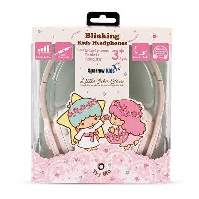Sparrow Kids Blinking Kids Headphones KC05VL LITTLE TWIN STARS ( KC05VL )