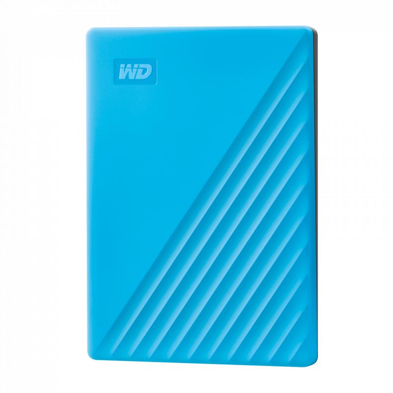 Western Digital My Passport 1TB USB3.0 HDD (WDBYVG0010BBK-OB) - Blue