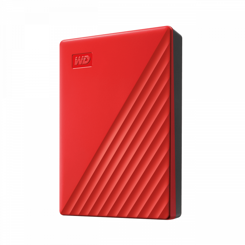 Western Digital My Passport 5TB USB3.0 HDD (WDBPKJ0050BBK-0B) - Red