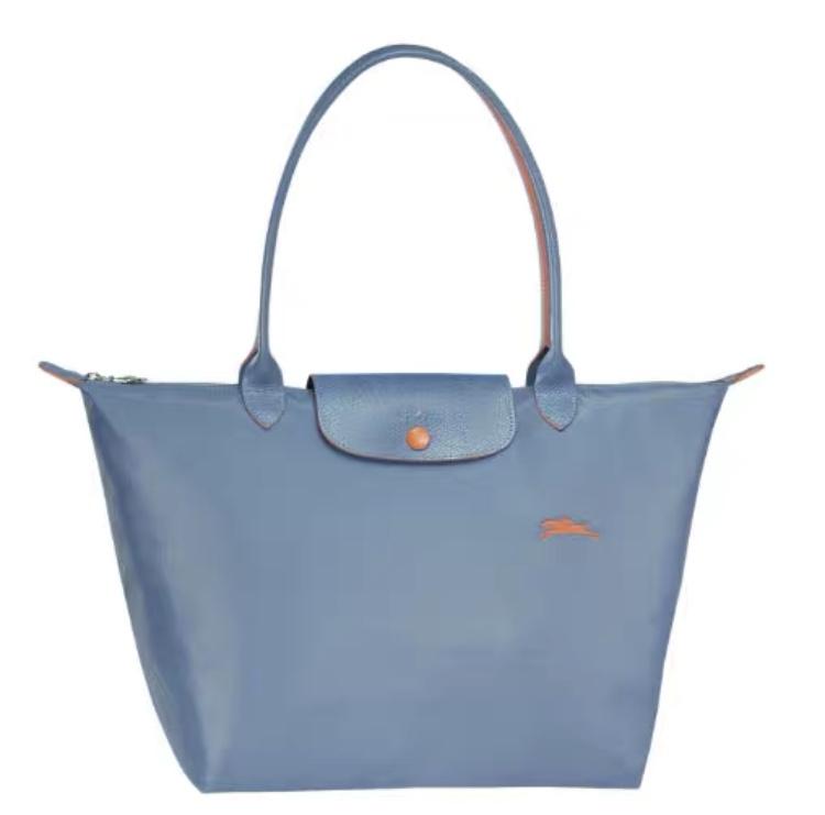 Longchamp Le Pliage Club 系列 長柄 大購物包 黑色 / 海軍藍 / 粉紅色及更多顏色