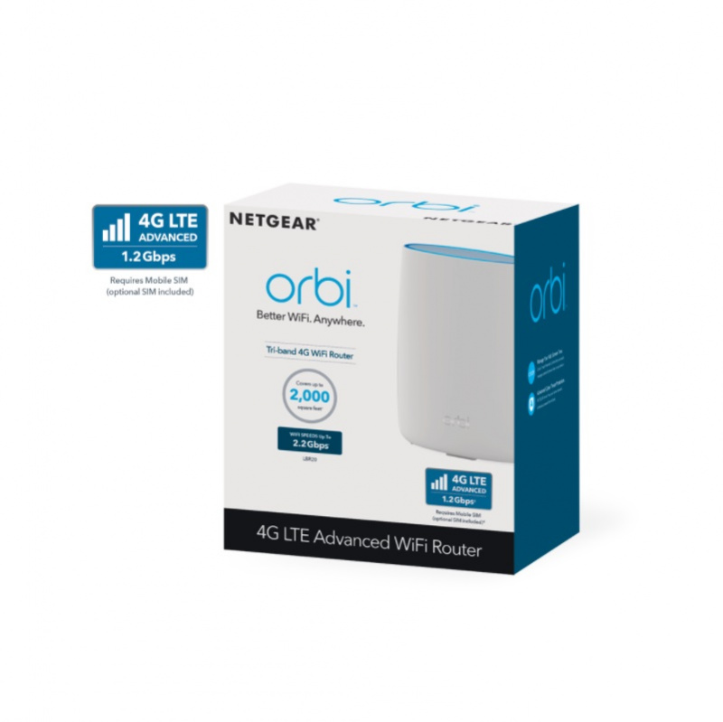 Netgear Orbi 4G LTE 專業級三頻 Mesh WiFi 單體路由器 LBR20