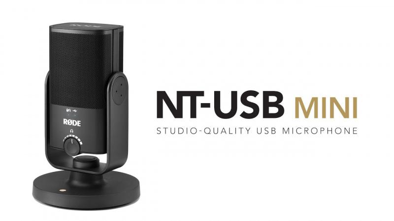 RODE NT-USB Mini Studio-Quality Microphone 錄音咪