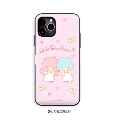 韓國 iPhone / Samsung 可插卡手機保護殼 - Sanrio Characters