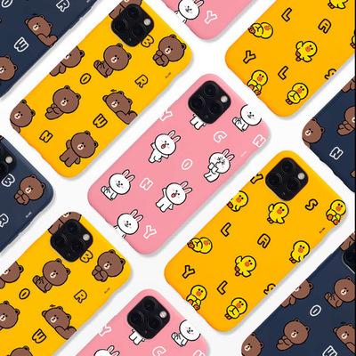 韓國Line Friends 手機保護套- iPhone XS/XS Max/11/11 Pro/11 Pro Max/12/12 Mini/12 Pro/12 Pro Max