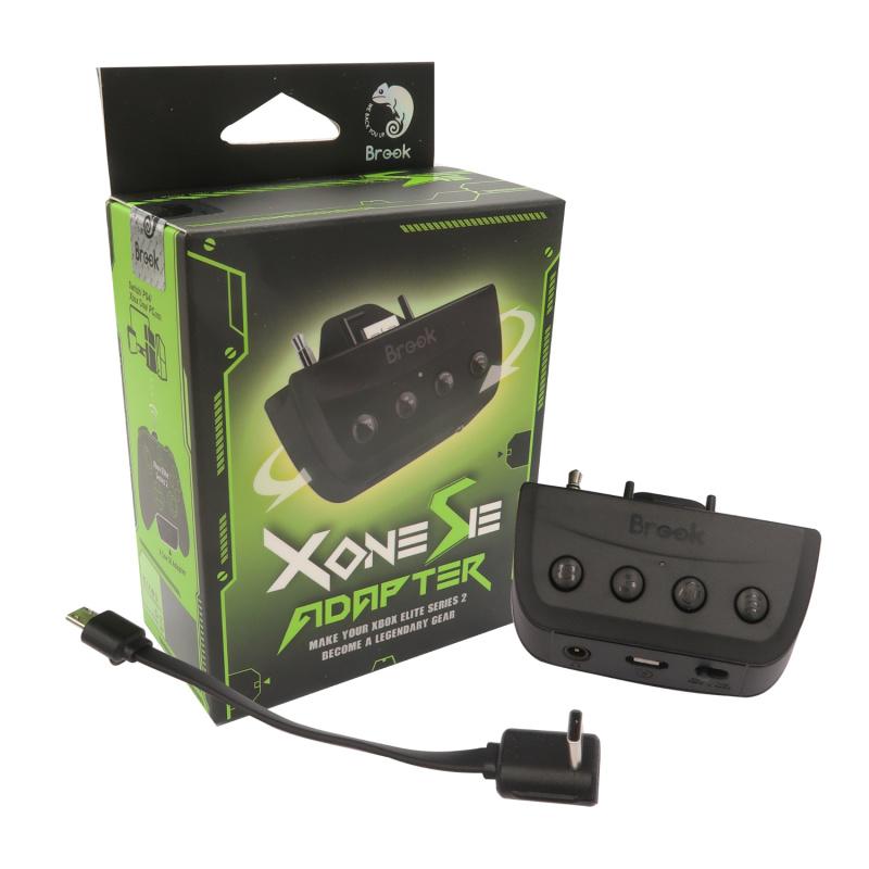 Brook X One Adapter SE無線轉換器 Xbox Series S/X及Xbox Elite 2代手制轉接Xbox One, XSX/S, Nintendo Switch, PS4 and PC (Type-C版) 支持在PS5上玩PS4兼容遊戲