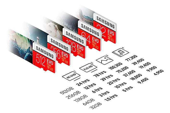 Samsung EVO Plus UHS-I MicroSDXC 記憶卡 配SD轉接器