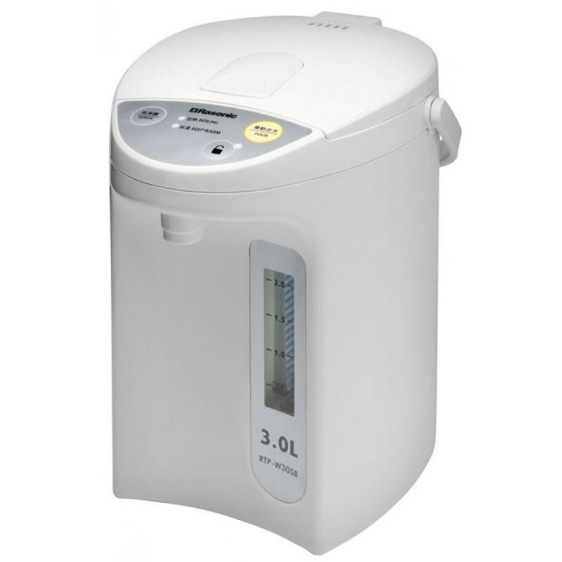 Rasonic-電動或碰杯出水電熱水壺 RTP-W30SB(3.0公升)
