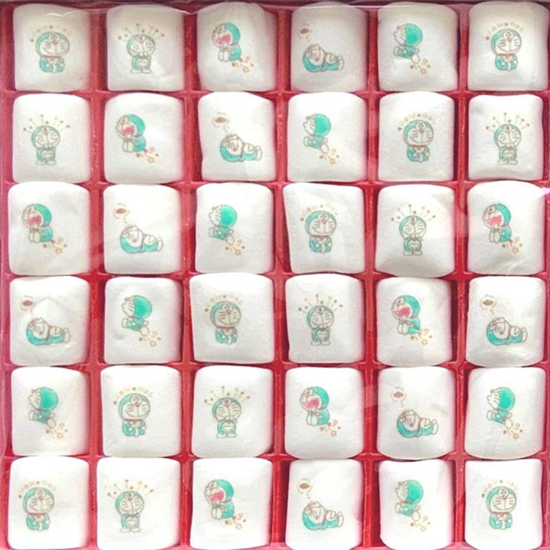 日版 多啦A夢 手繪畫風 叮噹棉花糖禮盒 (1盒36粒)【市集世界 - 日本市集】