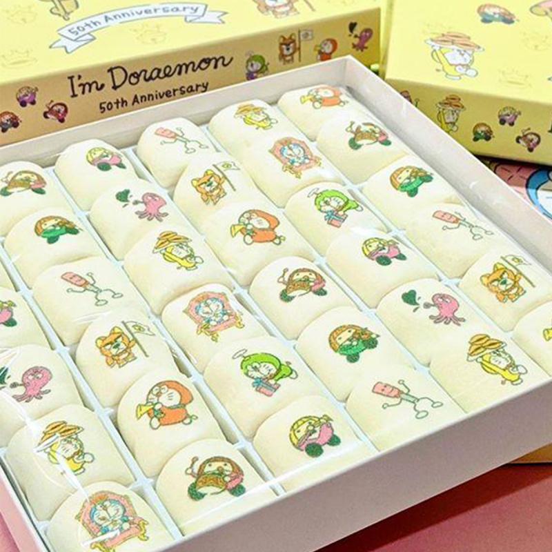 日版 多啦A夢 50週年限定 叮噹棉花糖禮盒 (1盒36粒)【市集世界 - 日本市集】