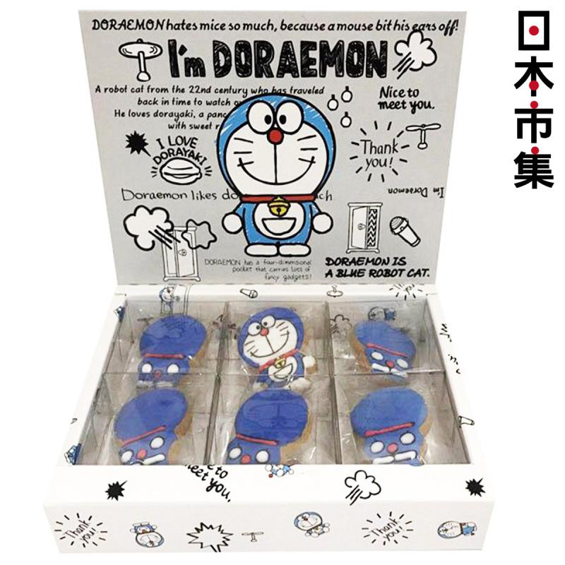 日版 多啦A夢 叮噹造型 曲奇餅禮盒 (1盒6塊)【市集世界 - 日本市集】