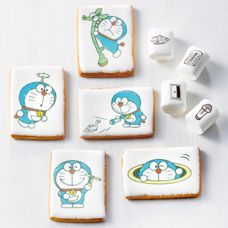 日版 多啦A夢 叮噹棉花糖及曲奇餅 金屬鐵罐禮盒【市集世界 - 日本市集】