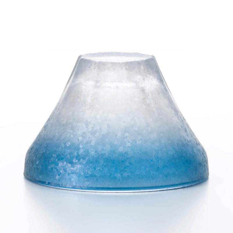 日本の象徴 紅藍一對 富士山清酒玻璃杯 禮盒【市集世界 - 日本市集】