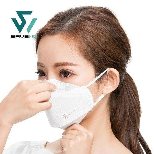 香港製 SAVEWO 3DMask Ultra 救世超立體口罩ULTRA TYPE.COOL+「FFP2 + KF94 + ASTM LEVEL3 認證 」(30片獨立包裝/盒) (送口罩減壓器)
