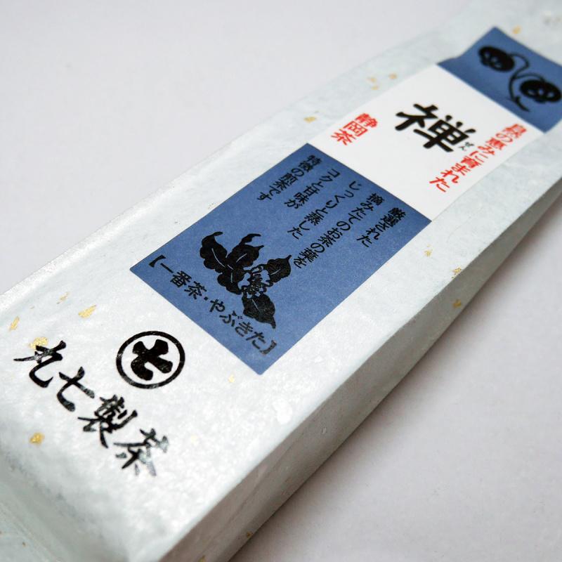 日本 丸七製茶ななや《禅》米之蓮三星店用 靜岡深蒸煎綠茶 100g【市集世界 - 日本市集】